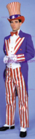 Uncle Sam Costume, Deluxe, Large