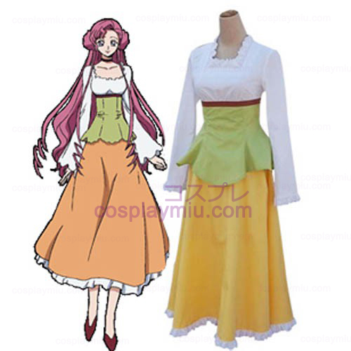 Code Geass Lelouch of the Rebellion Euphemia Casual Cosplay Cost