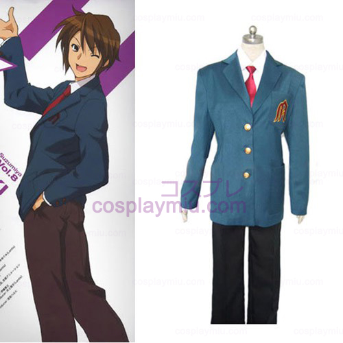 Melancholy of Haruhi Suzumiya Male Cosplay Costume