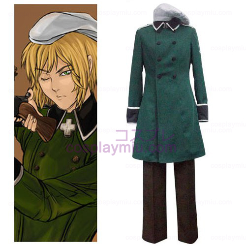 Axis Powers Vash Zwingli Cosplay Costume