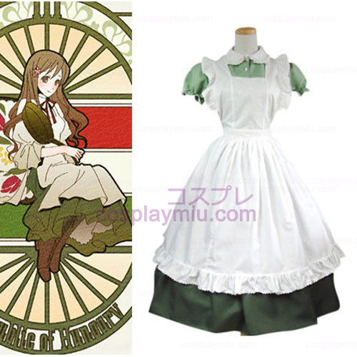 Hetalia: Axis Powers Little Italy Maid Halloween Cosplay Costume