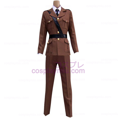 Hetalia: Axis Powers France Men's Cosplay Costume