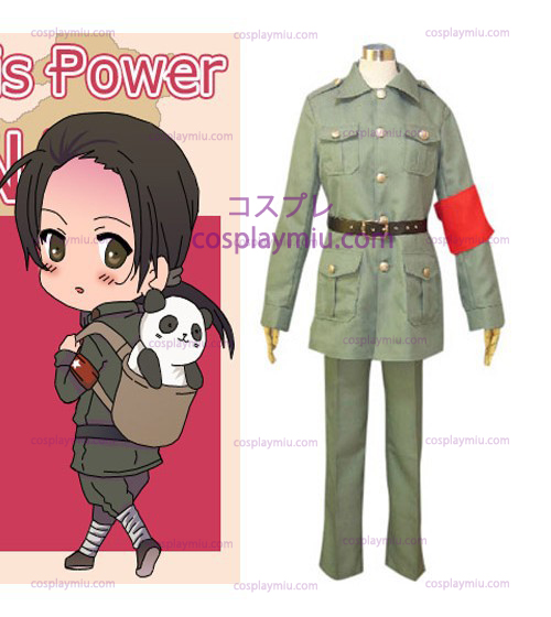 Wang Yao (China) Uniform from Axis Powers Hetalia