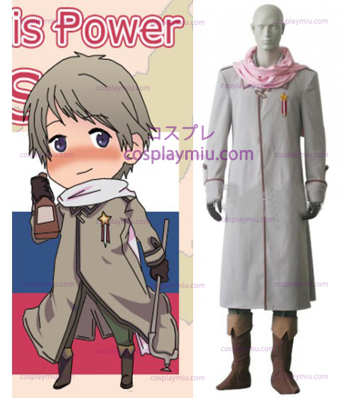 Russia Cosplay Costume from Axis Powers Hetalia