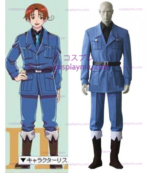 Italy Cosplay Costume from Axis Powers Hetalia