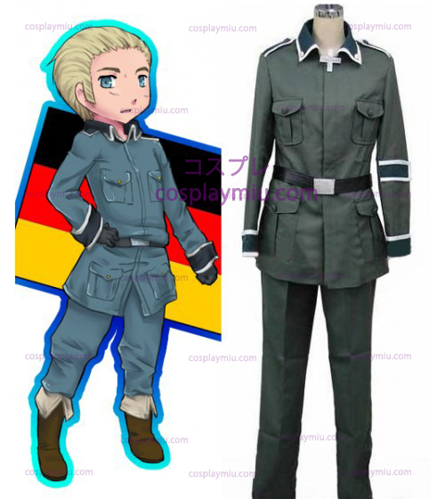 Germany Cosplay Costume from Axis Powers Hetalia