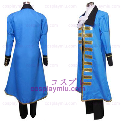Hetalia Axis Powers Blue France Cosplay Costume