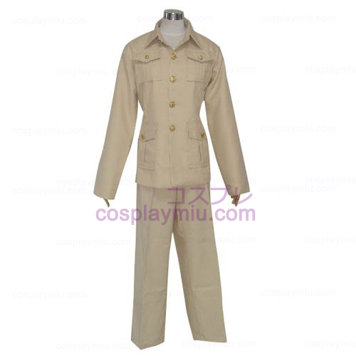 Axis Powers France Cosplay Costume