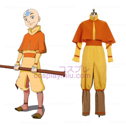 Avatar The Last Airbender Cosplay Aang Costume