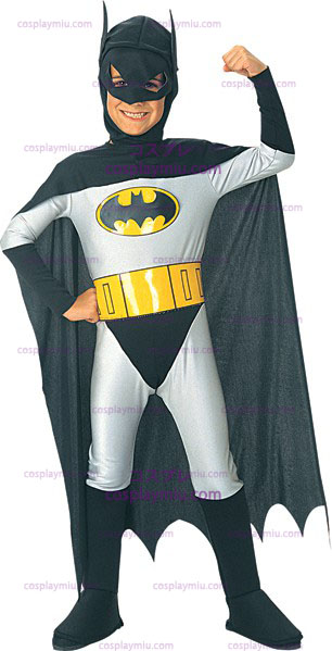 The Caped Crusader Batman Costume