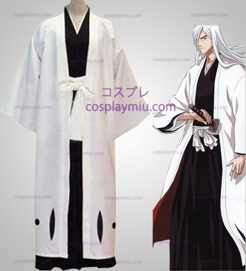 Bleach Captain Ukitake Juushiro cosplay costume - 13th Division