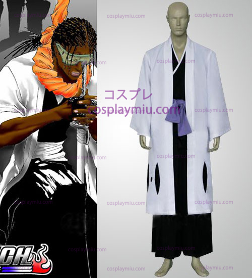 Bleach Captain Zaraki Kenpachi Cosplay Costume - 11th Division