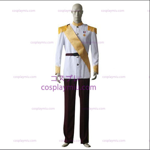 White shirt Red Trousers Cosplay Costume