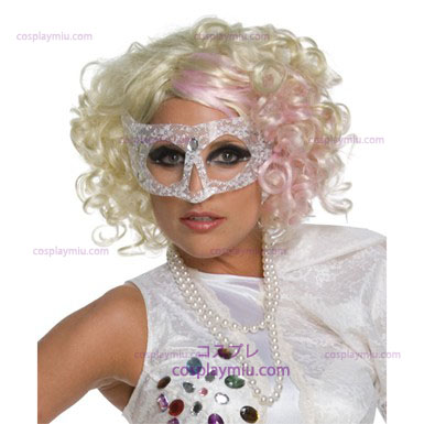 Lady Gaga Blonde Wig - Pink
