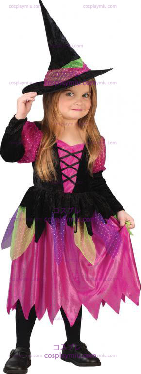 Rainbow Witch Toddler Costume