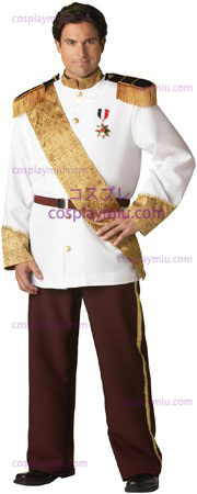 Prince White Charming Costume