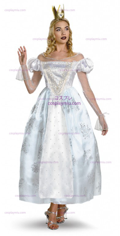 AiW White Queen Adult Costume