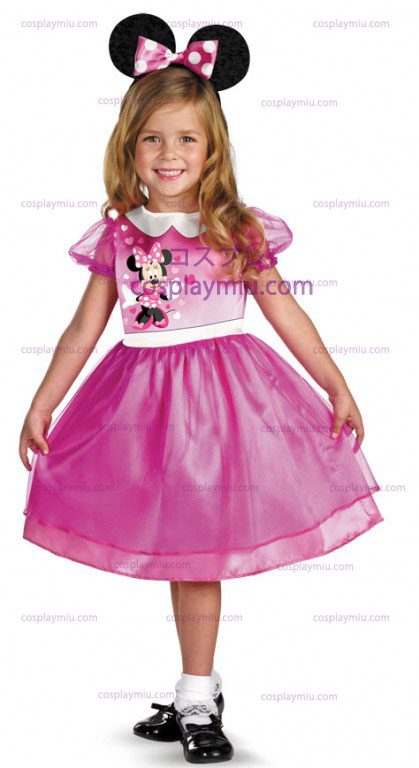 Pink Minnie Mouse Toddler Costume