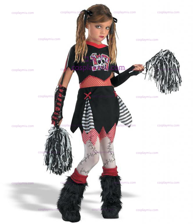 Goth Cheerleader Child Costume