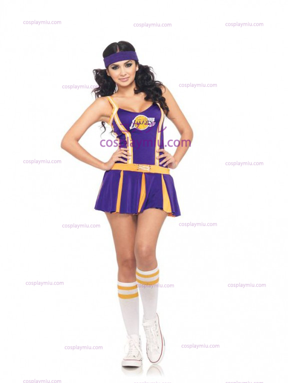 Lakers Cheerleader Adult Costume