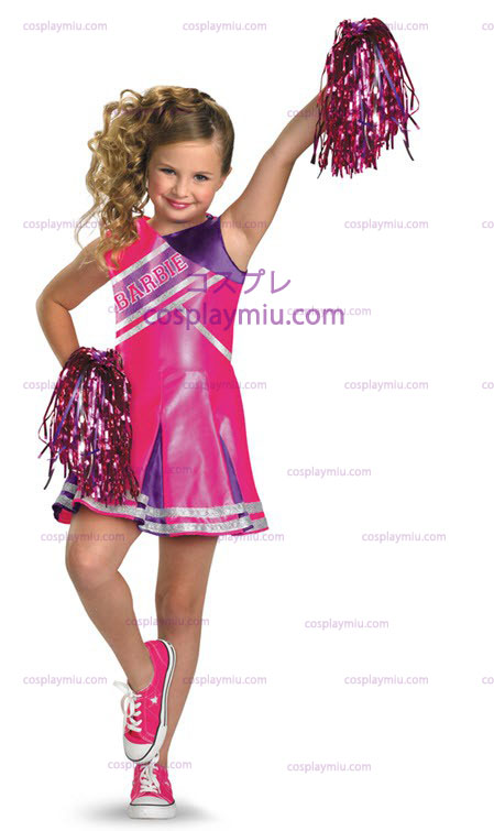 Barbie Cheerleader Child Costume