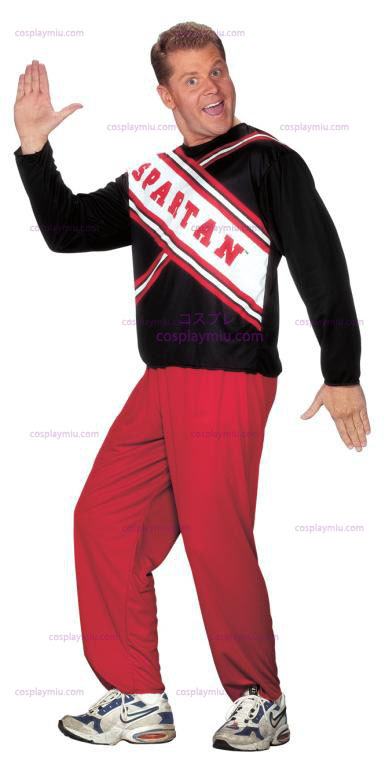 SNL Cheerleader Male Spartan Adult Costume