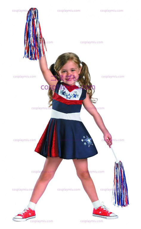 Superstar Cheerleader Spirit Child and Toddler Costume