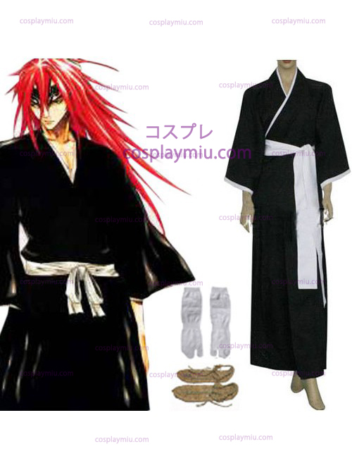 Bleach Lieutenant Abarai Renji Cosplay Costume - 6th Division