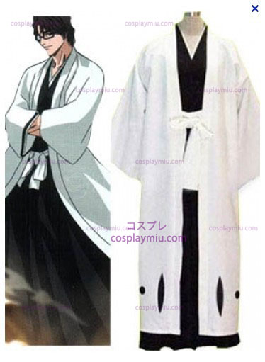 Bleach Captain Aizen Sousuke Cosplay Costume - 5th Division