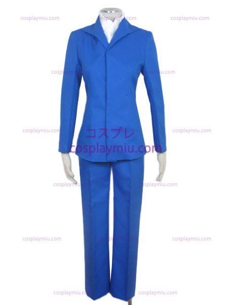 Blue Woman Costume