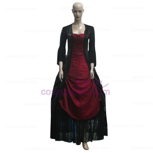 Gothic Vampire Elite Women Cosplay Costume
