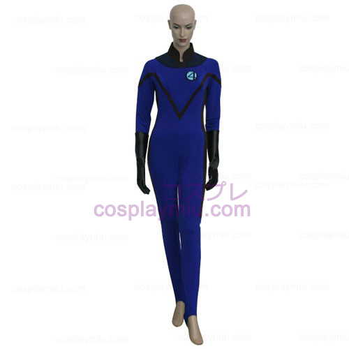 Fantastic 4 Invisible Woman Cosplay Costume