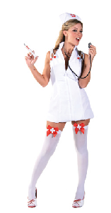 Intensive Care Adult Costume