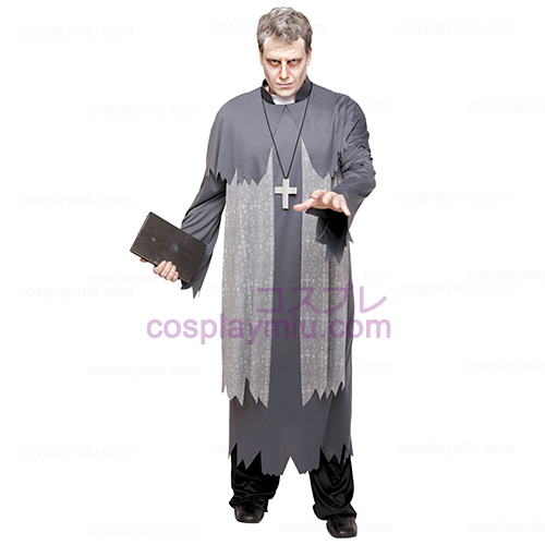 Father Phantom Priest Adult Plus Costume