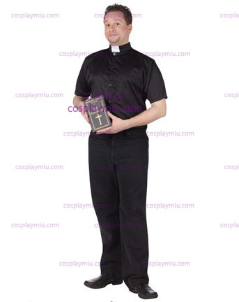 Mens Holy Hammered Priest Costume