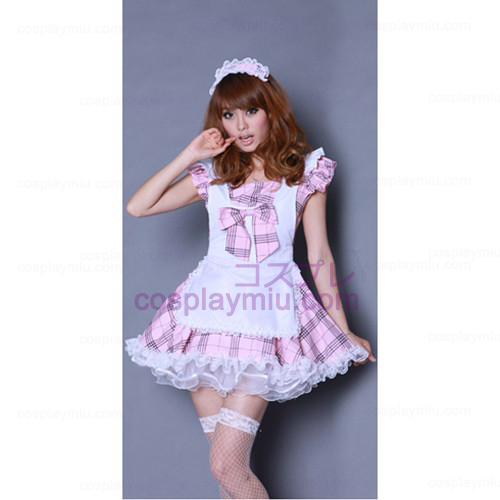 Anime Singer DS Performance Costumes/Pink Maid Costumes