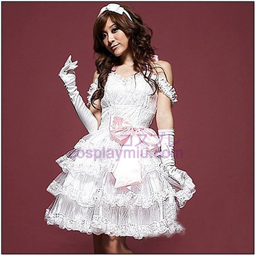 Noble Cake Type Princess Skirt Maid Costumes