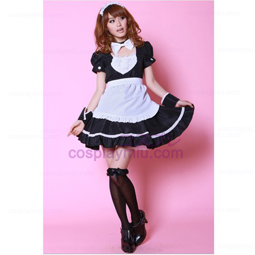 Popularity Singer Costume /Black And White Maid Costumes
