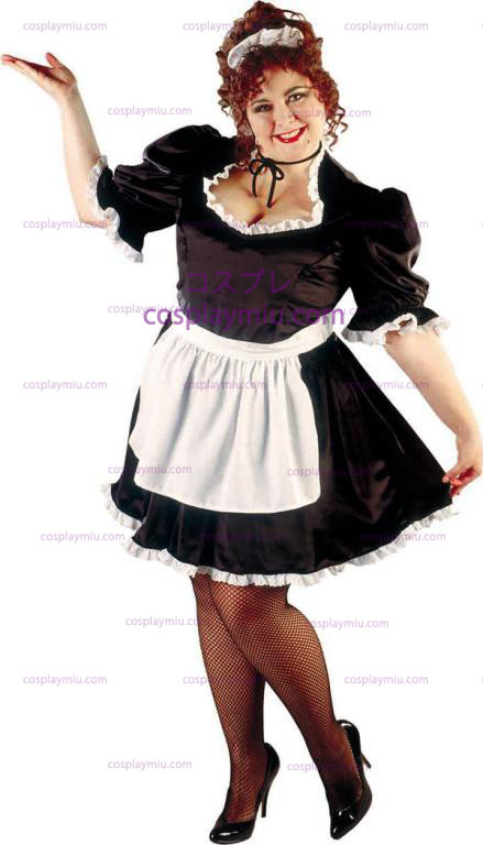French Maid Plus Size Adult Costume