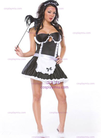 Retro French Maid Adult Costume