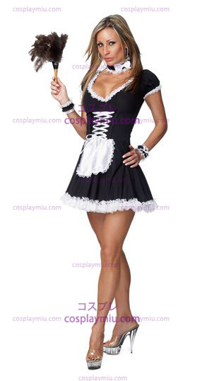 Sexy French Maid Adult Costume