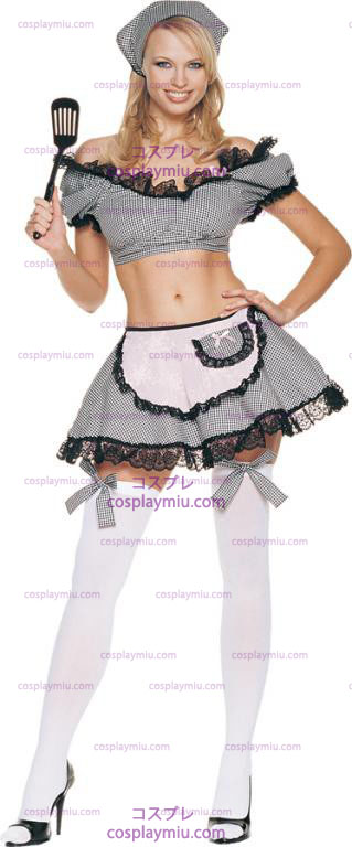 Naughty Housewife Sexy Adult Costume