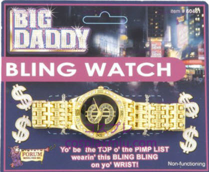 Big Daddy Bling Watch