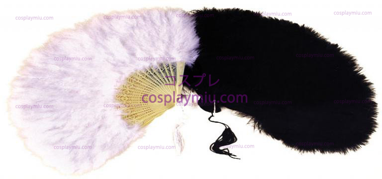Marabou Feather Fan