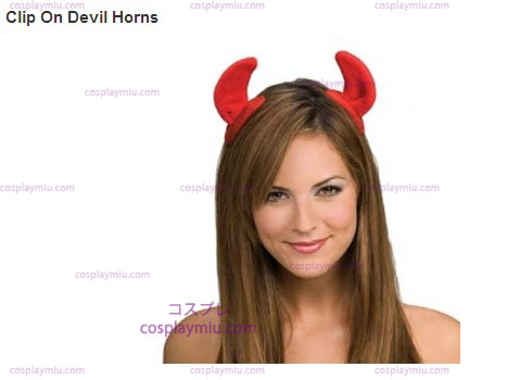 Clip On Devil Horns