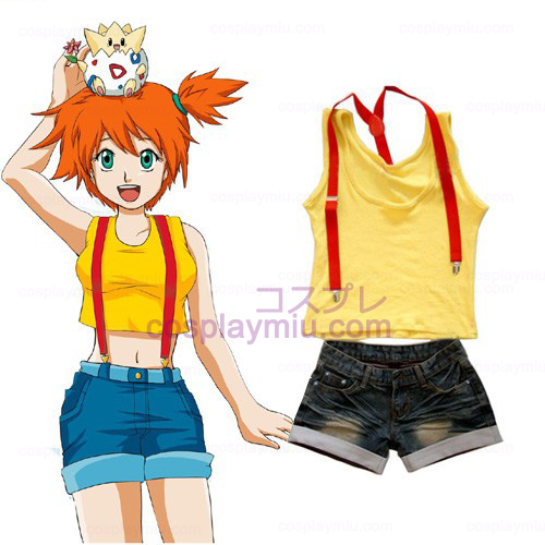 Pokemon Misty Women's Cosplay Costume