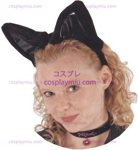 Black Cat Ears Set