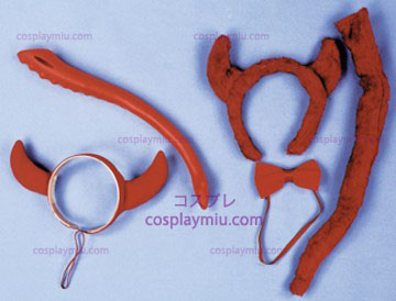 Devil Horns Headpiece, Felt