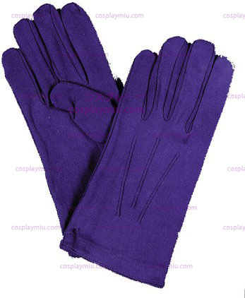 Gloves Mens Nylon Blue
