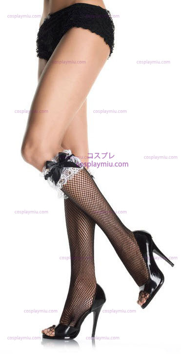 Fishnet Knee Hi Stockings
